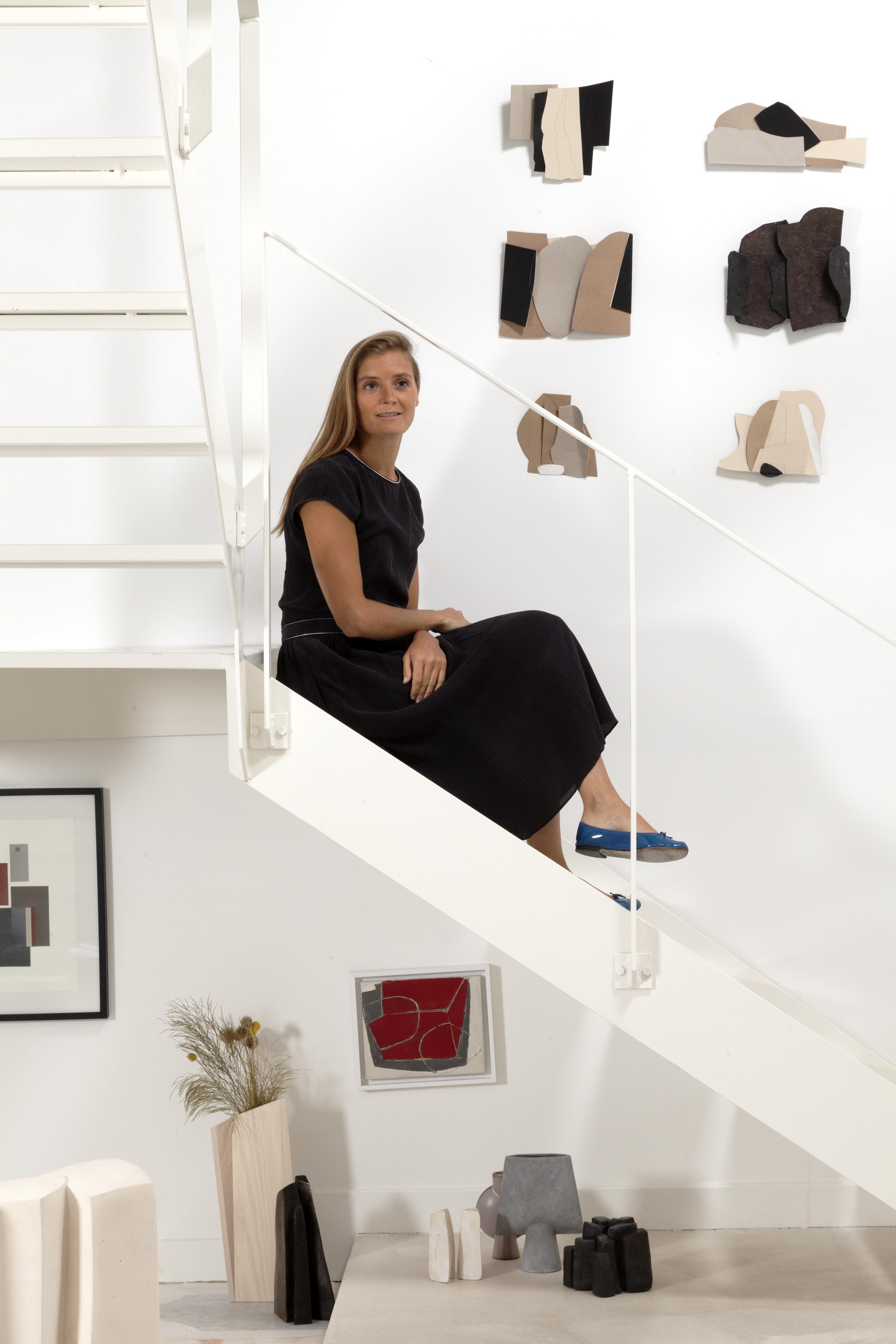 Portrait Amelie:Escalier:Bronze Cimolai