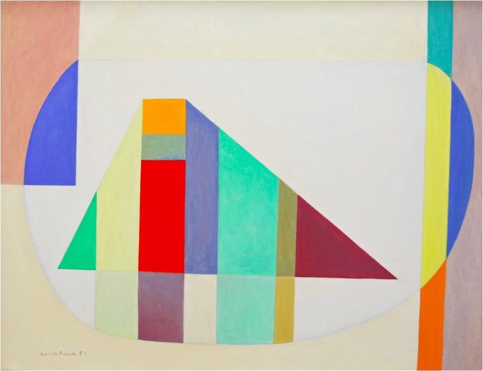 Carla Prina, Untitled, 1989, Oil on canvas